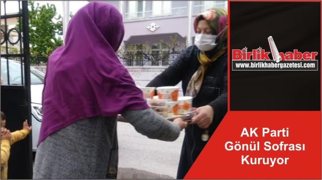 AK Parti Gönül Sofrası Kuruyor