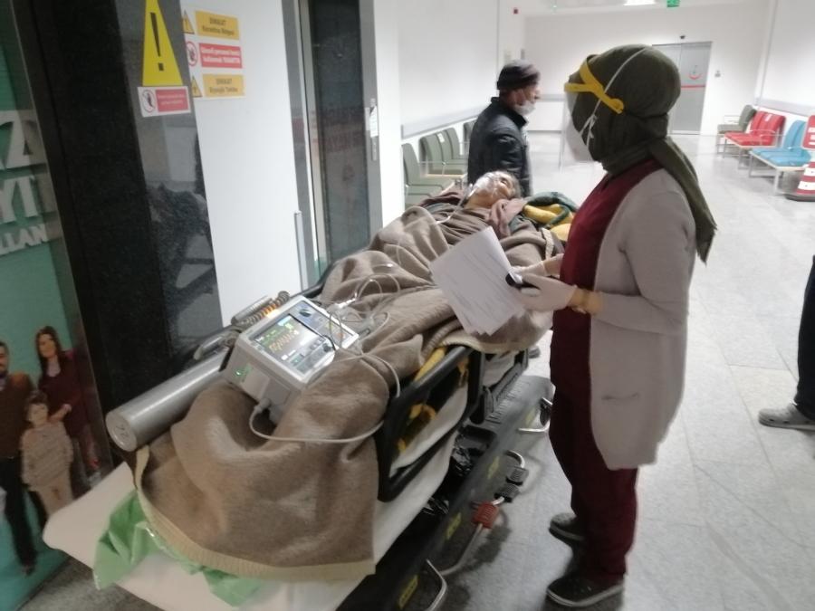Aksaray'da soba faciası: 1 ölü 1 ağır yaralı