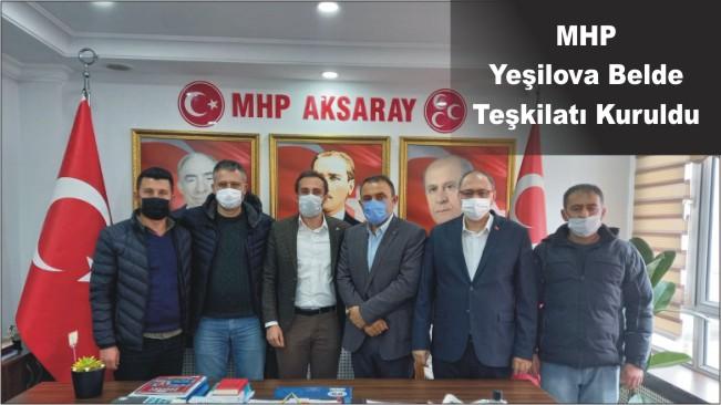 MHP Yeşilova Belde Teşkilatı Kuruldu