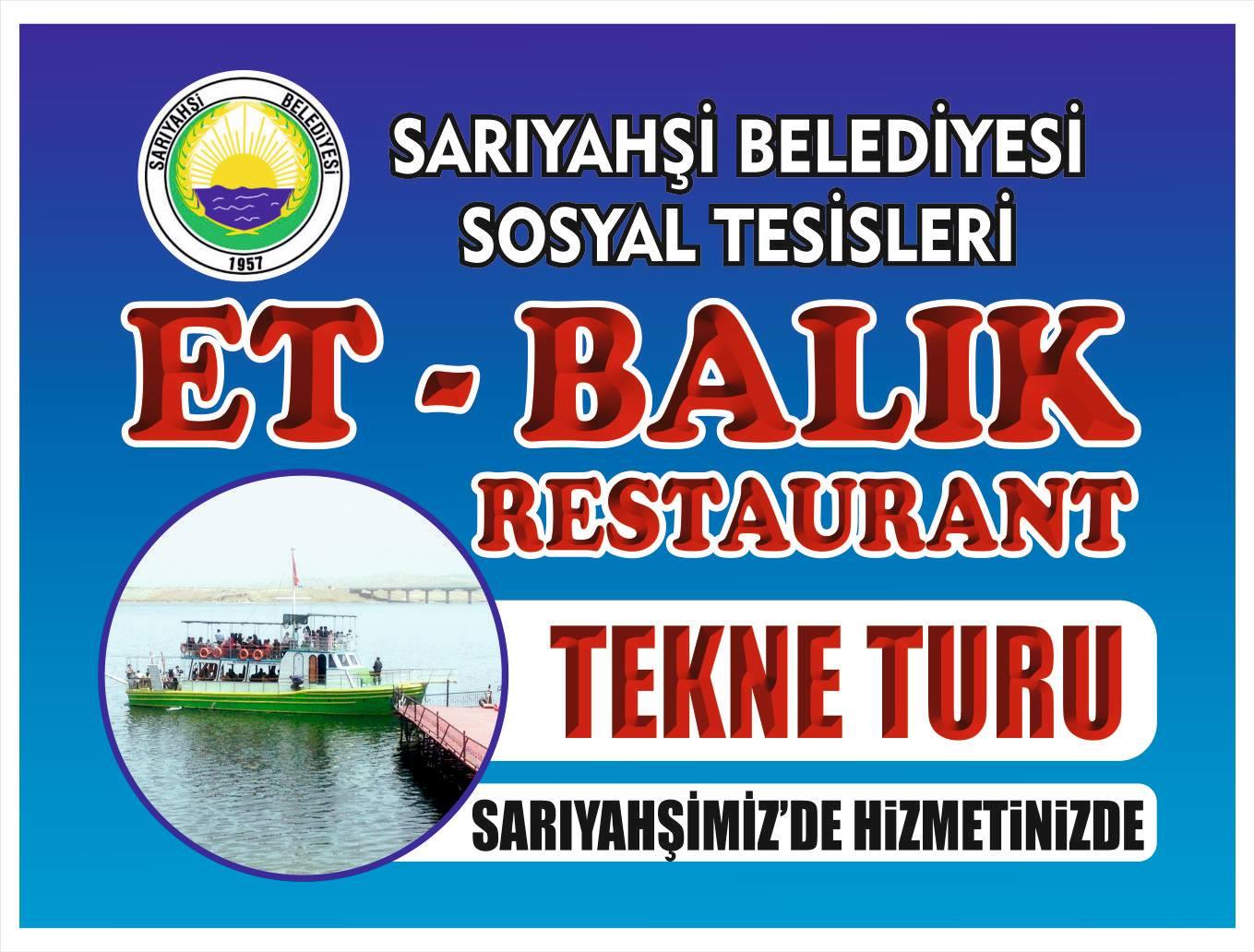 Aksaray'da Tekne Turu