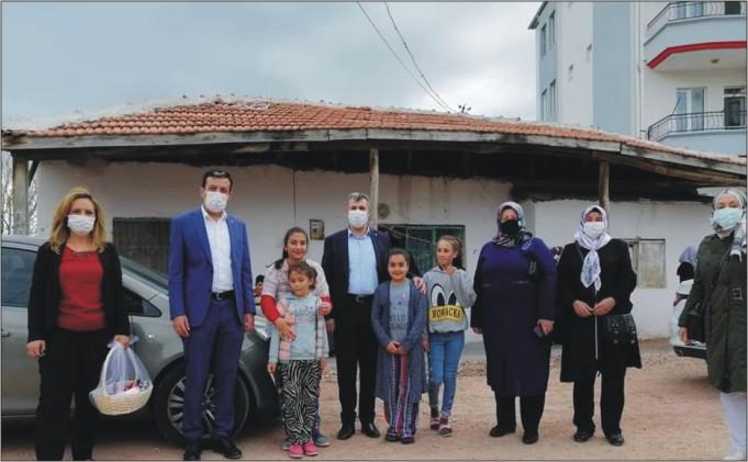 AK Kadınlar Ramazanın Bereketini Paylaşıyor