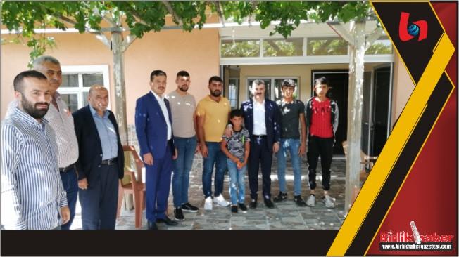 AK Parti'den Köylere Çıkarma