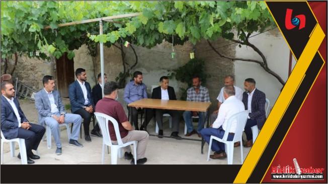 Milletvekili Aydoğdu ziyaretlere devam ediyor