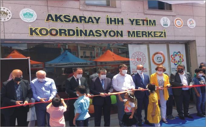 Yetim Koordinasyon Merkezi Açıldı