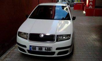 2006 Model Skoda Fabia 1.2 Benzinli