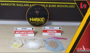 8 kişi uyuşturucu ticaretinden yakalandı
