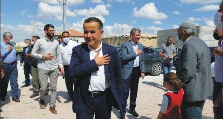 AK Heyet Köy Ziyaretlerine Devam Ediyor