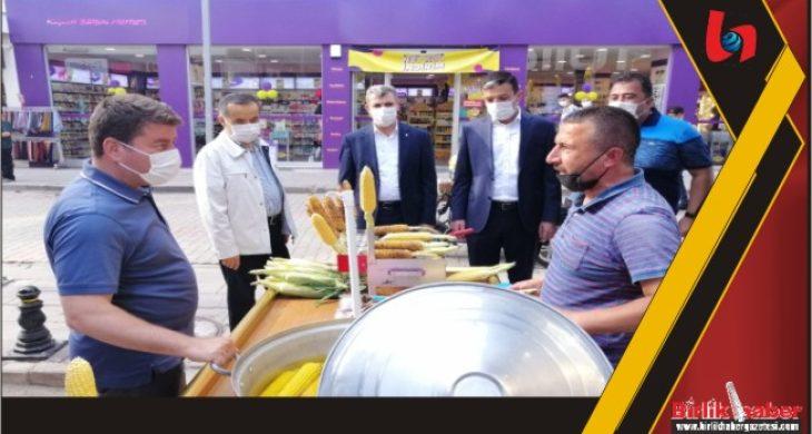 AK Heyet'ten Esnaf Ziyareti