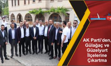 AK Parti'den, Gülağaç ve Güzelyurt İlçelerine Çıkartma
