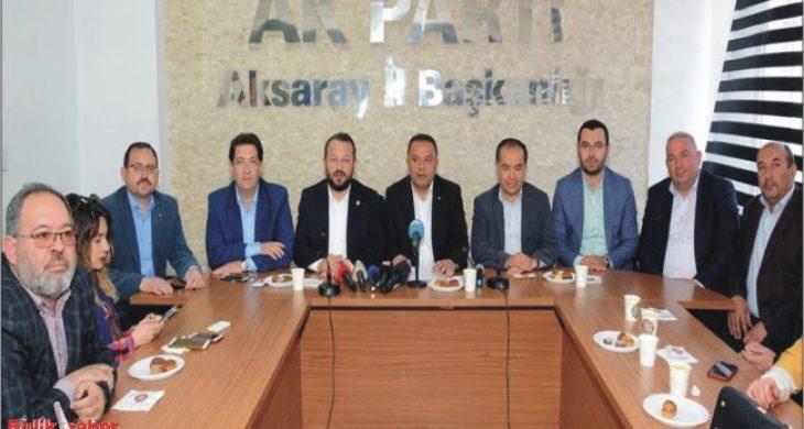 AK Parti'den Referandum Teşekkürü