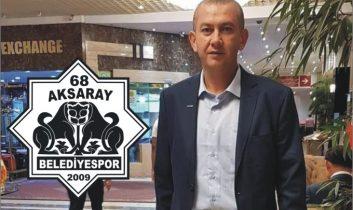 Aksaray Belediyespor'da yeni başkan Tamer Yalvaç