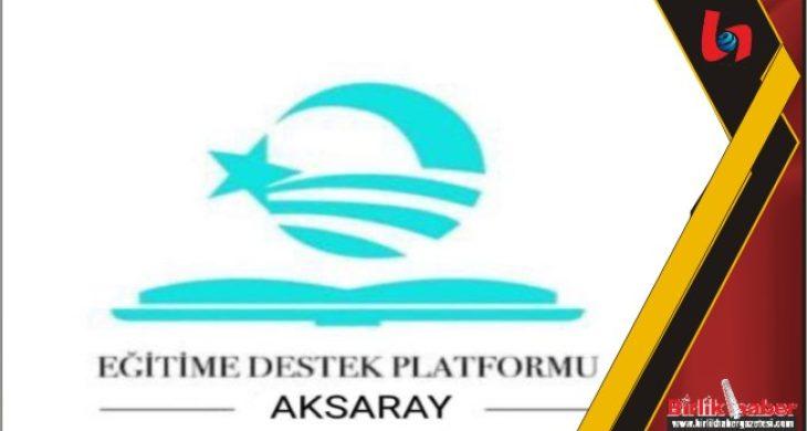 Aksaray EDP Eğitim Bursu