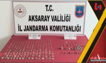 Aksaray'da Tarihi Eser Kaçakçıları Yakalandı