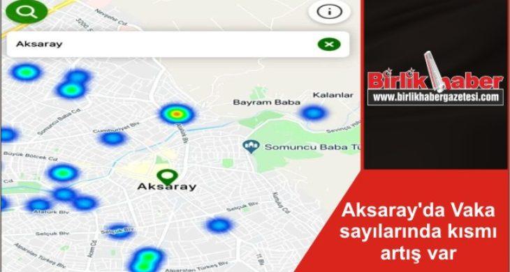 Aksaray'da Vaka sayılarında kısmı artış var