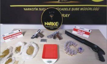 Aksaray'da uyuşturucuya geçit yok: 4 tutuklama