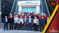 Aksaray'ın Sultanları ATSO'yu Ziyaret Etti