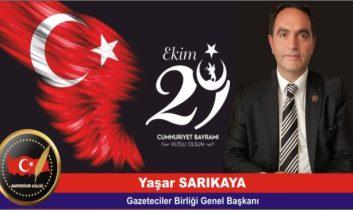 Gazeteciler Birliği Cumhuriyet Bayramını kutladı