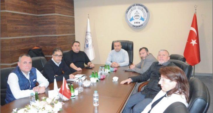 İki sektörünün sorun ve talepleri Hisarcıklıoğlu'na İletildi