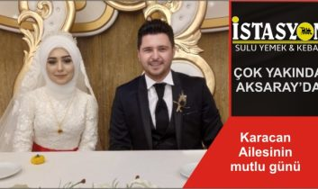 Karacan Ailesinin mutlu günü