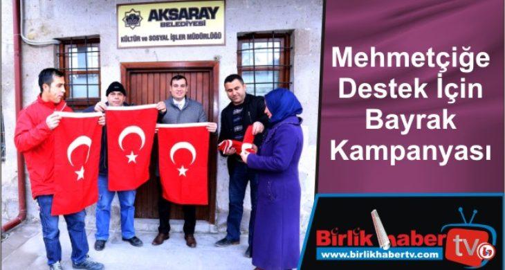 Mehmetçiğe Destek İçin Bayrak Kampanyası