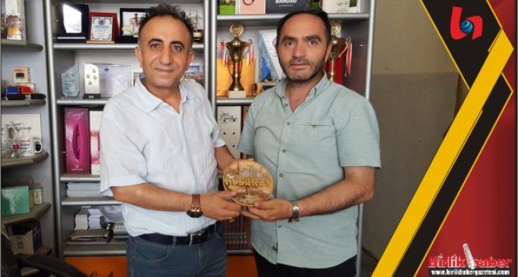 Prof.Dr. Ramazan ÇAKIR, Gazeteciler Birliği Başkanını ziyaret etti