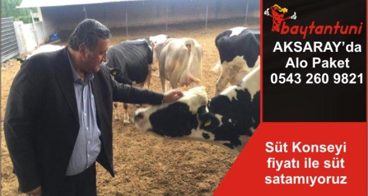 Süt Konseyi fiyatı ile süt satamıyoruz