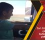 Tır'ı 10 yaşındaki çocuğa kullandırınca yakalandı