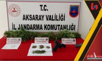 Tatlıca Köyünde uyuşturucu yakalandı