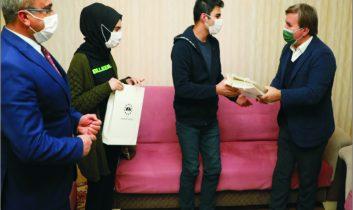 Vali Aydoğdu'dan mektup arkadaşlarına anlamlı ziyaret