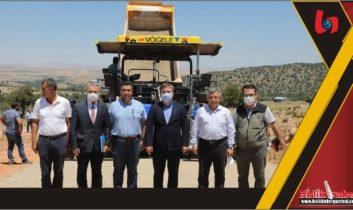 """Vali Hamza Aydoğdu; """"Önceliğimiz yollarımız"""""""