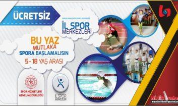 Yaz Spor Okulları Aksaray'da Kapılarını Açıyor