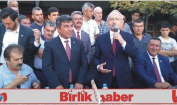 Kılıçdaroğlu Aksaray'da