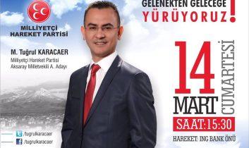 Tuğrul Karacaer Aday Adaylığını açıklıyor